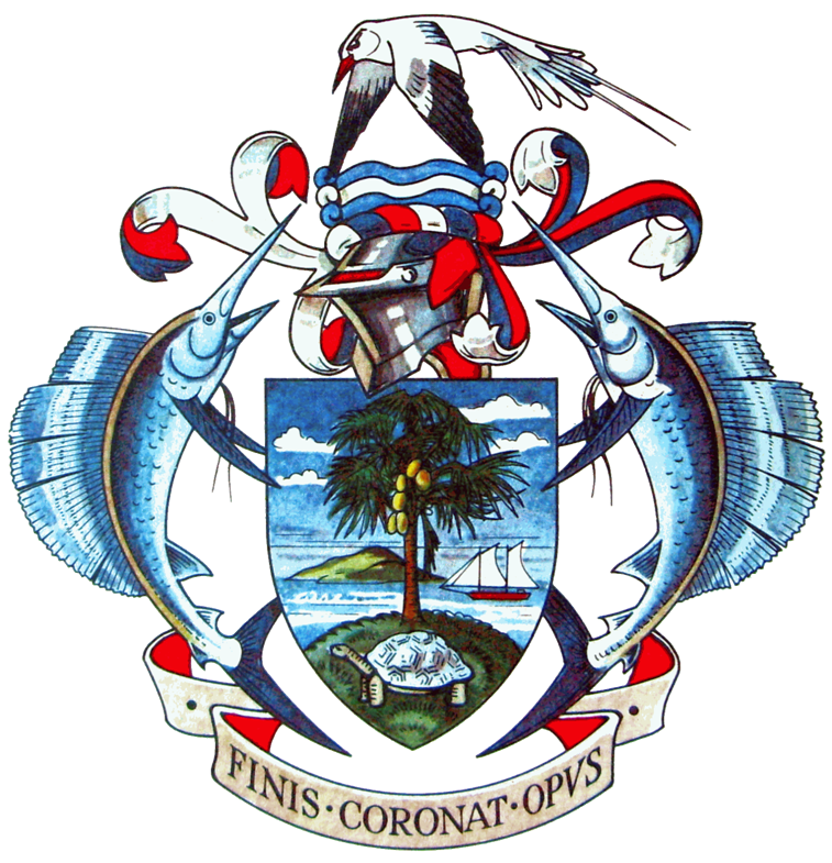 Seal of the President of the republic of Seychelles