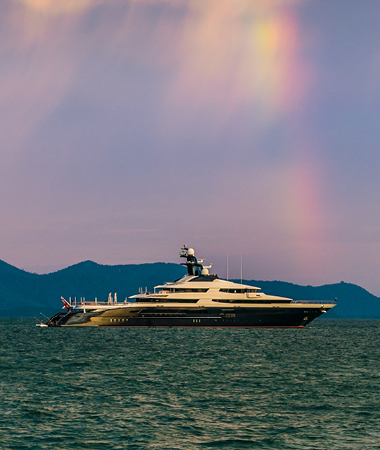 Superyacht Protection in the Indian Ocean