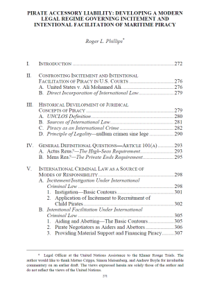piracy renaissance table of contents