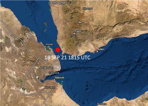 Bab El Mandeb Strait - Incident Alert