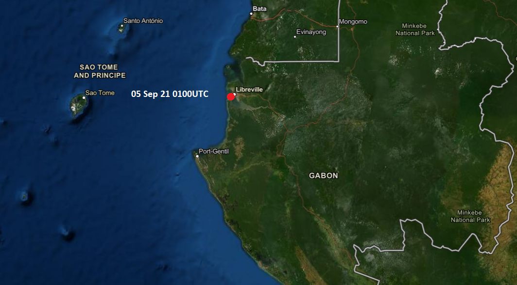 Neptune P2P Group - Intelligence Report - Vessel boarded by armed intruders at Gabon Anchorage