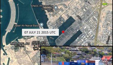 Incident Alert – Explosion – Jebel Ali UAE