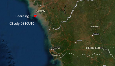 Incident Alert – Boarding – Conakry Anchorage, Guinea