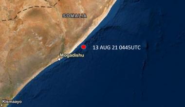 Incident Alert – Suspected Piracy Attack – 100nm NE Mogadishu