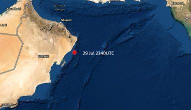 Incident Alert – Suspected Missile Attack – Arabian Sea