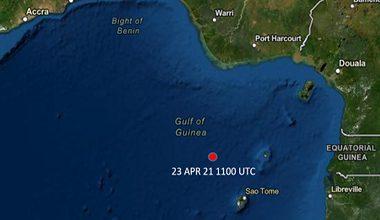 Incident Alert Update – Attack – Gulf of Guinea