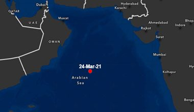 Incident Alert – Missile Attack – Arabian Sea