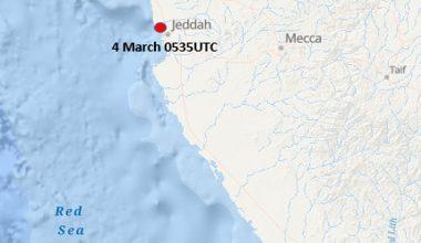 Incident Update – Missile Attack – Jeddah, Saudi Arabia