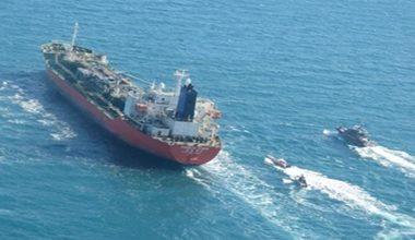 Iran detains chemical tanker in the Strait of Hormuz